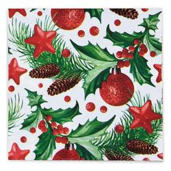 Weihnachtsservietten 3-lagig 33 x 33 cm Motiv 021, 20 Stk.