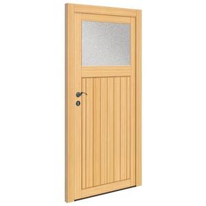 RORO Türen & Fenster Nebeneingangstür OTTO 25, BxH: 88x198 cm, Fichte, ohne Griffgarnitur