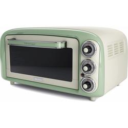 , Minibackofen »Vintage 979 grün«, Oberhitze Unterhitze, Backofen, 69759363-0 grün grün