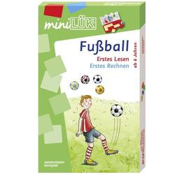 mini Lük Fußball Erstes Lesen / Erstes Rechnen 4509