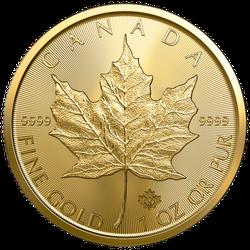 1 Unze Gold Maple Leaf 2020 (zollfrei)