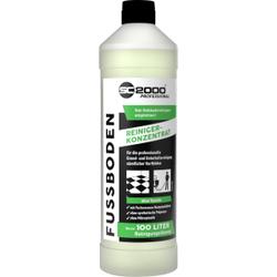 SC 2000 Professional Fußbodenreiniger, ohne Tenside, Für die professionelle Grund- und Unterhaltsreinigung, 1 Liter - Flasche