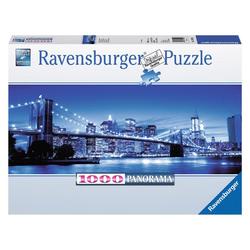 Ravensburger Puzzle Leuchtendes New York, 1000 Puzzleteile bunt