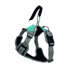 Hundegeschirr, verstellbar, mit Gurtschlaufe fürs Auto L
