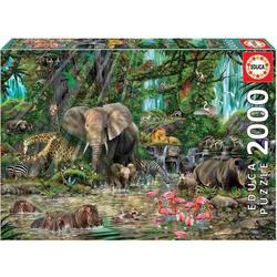 Educa - Dschungel 2000 Teile Puzzle