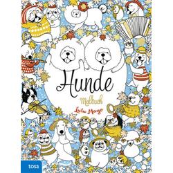 Hunde Malbuch: Buch von Lulu Mayo