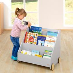 Kinderbücherregal - Grau