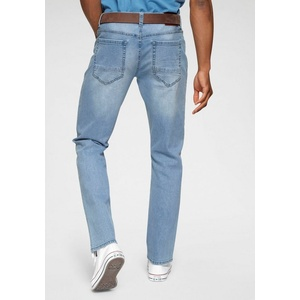 Bruno Banani Straight-Jeans Hutch blau 40