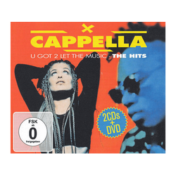 Capella - U Got 2 Let The Music-The Hits (CD + DVD Video)
