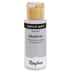 Rayher Allesfarbe Acrylfarben steingrau 59,0 ml, 1 St.