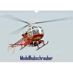 Modellhubschrauber / CH-Version (Wandkalender 2021 DIN A4 quer)