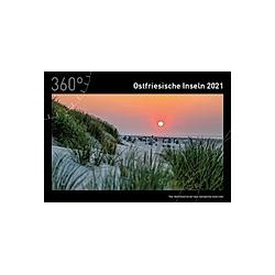 360° Ostfriesische Inseln Premiumkalender 2021