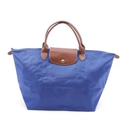 Longchamp Damen Handtasche blau, Größe M, 4904205