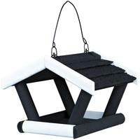 TRIXIE Futterhaus zum Hängen schwarz/weiß