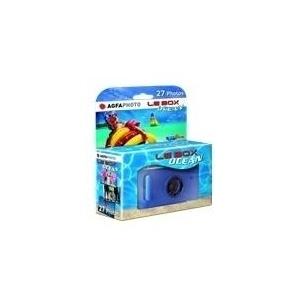 AgfaPhoto Le Box Ocean - Wasserdichte Einwegkamera - 35mm - Objektiv: 28 mm (LE BOX OCEAN)