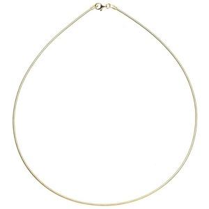 OSTSEE-SCHMUCK Halsreif - Omega 1,4 mm - Gold 585/000 -, (1-tlg) 42 cm