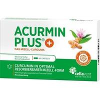 Cellavent Healthcare GmbH ACURMIN Plus Das Mizell-Curcuma Weichkapseln