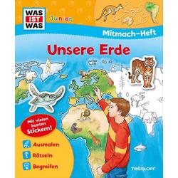 WIW Mitmach-Heft Unsere Erde