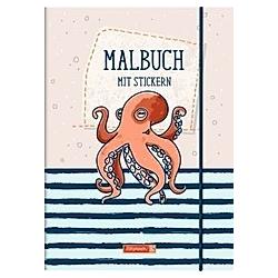 Brunnen Ausmalblock Happy Ocean - Buch