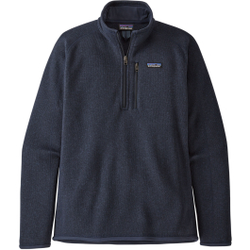 Patagonia - M's Better Sweater 1/4 Zip New Navy - Fleece - Größe: L