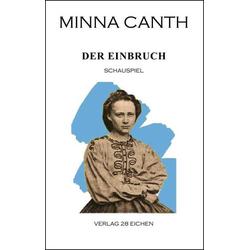 Der Einbruch als Buch von Minna Canth