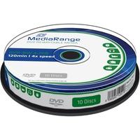 MediaRange DVD-RW 4,7GB 4x 10er Spindel