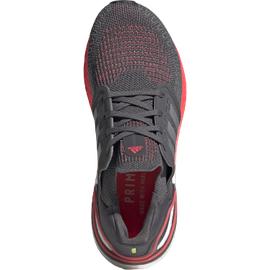 adidas Ultraboost 20 W grey five/silver metallic/signal pink/coral 38