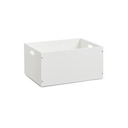 HTI-Living Aufbewahrungsbox Aufbewahrungskiste weiß stapelbar MDF, Aufbewahrungskiste 30.1 cm x 20 cm