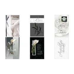 SUSY CARD Trauerkarte Rose und Band (40018218)
