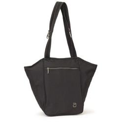 JOKA international Wickeltasche Elegant Zip Tote Pure Black, Wickeltasche, Tasche für alles, All in One Tasche