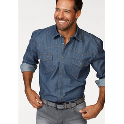 Arizona Jeanshemd Western Stil blau 49/50 (4XL)