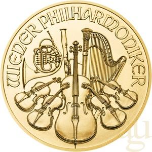 1/2 Unze Goldmünze Wiener Philharmoniker 2021