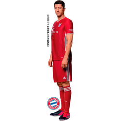 Wandtattoo FCB Robert Lewandowski