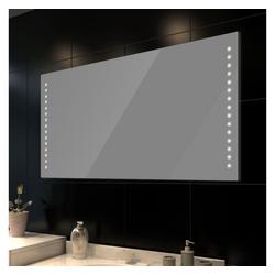 vidaXL Spiegel vidaXL Badspiegel mit LED-Leuchten 100×60 cm