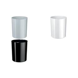 HAN Papierkorb i-Line, 20 Liter, Kunststoff, rund, weiß (81420086)
