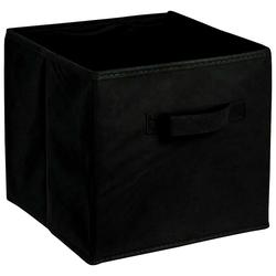 ADOB Aufbewahrungsbox Faltbox, Faltbox mit Griff schwarz