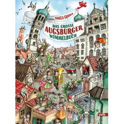 Das große Augsburger Wimmelbuch: Buch von