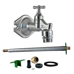 SEPP-EIS Außenwandventil (Wasserhahn) DN 15-1/2'', 135-500 mm