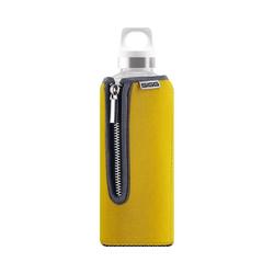 Sigg Trinkflasche SIGG Trinkflasche STELLA Red, Glas mit gelb