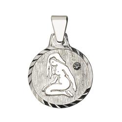 Firetti Sternzeichenanhänger runde Form, diamantiert, mit Kristallstein 6