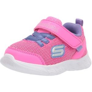 Skechers Mädchen Comfy Flex Moving ON Sneaker, Hppr, 26.5 EU