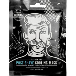 BARBER PRO Gesichtsmaske Post Shave Cooling Mask™, mit Anti-Aging Kollagen