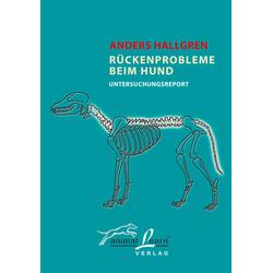 Rückenprobleme beim Hund als Buch von Anders Hallgren