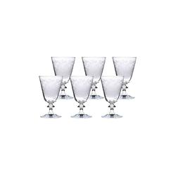 BOHEMIA SELECTION Rotweinglas PROVENCE Rotweinglas 260 ml 6er Set (6-tlg), Glas