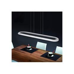 ZMH LED Pendelleuchte 37W Hängelampe dimmbar esstisch Büro Hängeleuchte Pendellampe mit Fernbedienung Panelleuchte