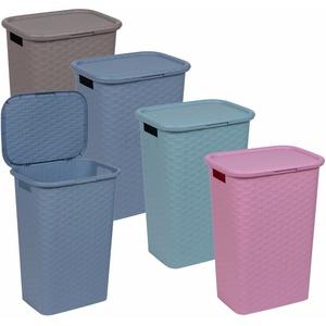 Hellblau (60 Wäschekorb