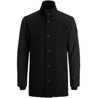 JACK & JONES Wollmischfaser Mantel schwarz XXL