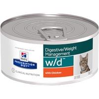 Hill's Prescription Diet Feline w/d Huhn 24 x 156 g