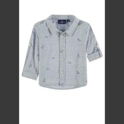 TOM TAILOR Boys Hemd, blau