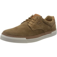 CAMEL ACTIVE Herren Racket Sneaker, Mehrfarbig (mud/nature 03), 44 EU (9.5 UK)